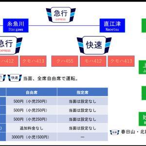 【えちごトキめき鉄道】413系「急行」7月4日に運転開始へ。