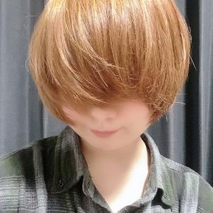 あ。髪の毛こうなりました。