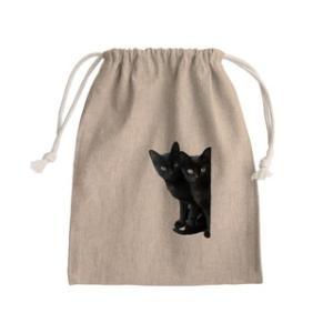 黒猫は見た きんちゃく