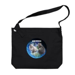 トラ猫ワールド MEOW UNIVERSE ビッグショルダーバッグ