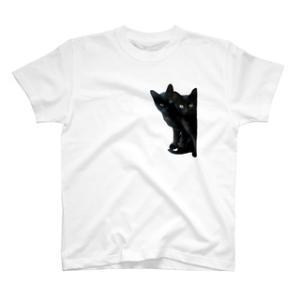 黒猫は見たTシャツ