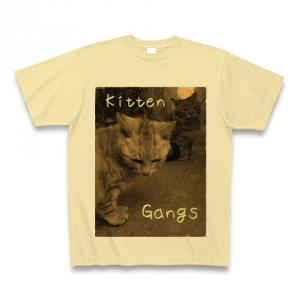 Kitten Gangs|Tシャツ|ナチュラル