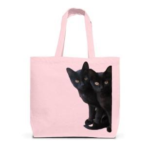 黒猫は見た・トートバッグL