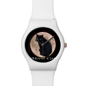 MOON CAT 腕時計