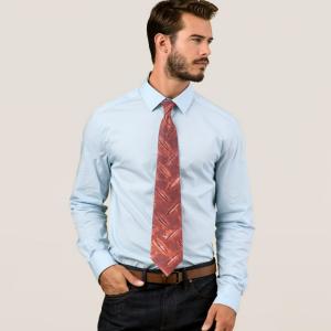 錆びた鉄板ネクタイ