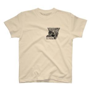 宮城の方言・いずい猫 Tシャツ