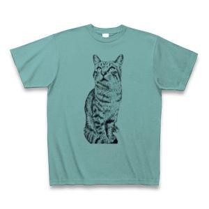 シマシマトラにゃん|Tシャツ|ミント