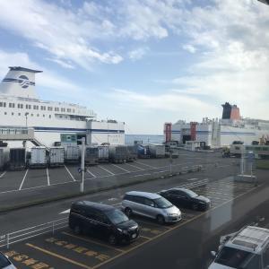 北海道車中泊の旅  最終日 苫小牧フェリーターミナルから大洗へ