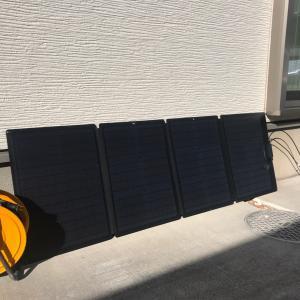 ソーラーパネル の運用 車中泊