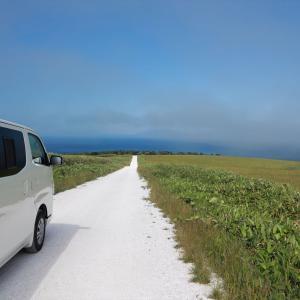 北海道車中泊の旅 6日目 メグマ沼湿原と宗谷丘陵