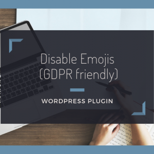 絵文字機能を無効にする【Disable Emojis (GDPR friendly)】の使い方