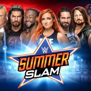 WWEサマースラム2019の対戦結果と感想!-WWE Summer Slam2019-