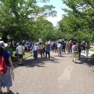 450人のマスクレスの行進・・・世界同時デモ京都