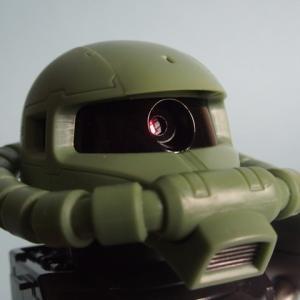 【おもちゃデジカメ クロニクル 33】これぞバンダイ ザクヘッド型デジカメ Digital Mono Eye MS-06 ZAKU II