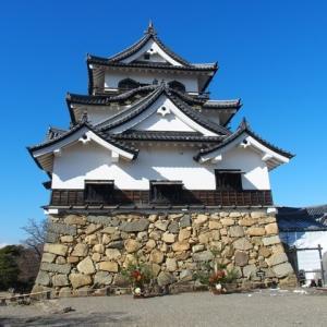 【城めぐり】国宝 彦根城を訪れ、現存天守を味わう【2021/01/04】