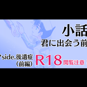 【R18】【小説】君に出会う前 *side. 後遺症(前編)