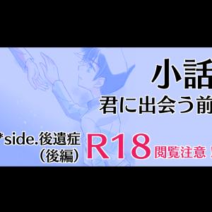 【R18】【小説】君に出会う前 *side. 後遺症(後編)