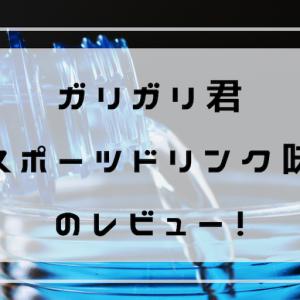 赤城【ガリガリ君 スポーツドリンク味】のレビュー