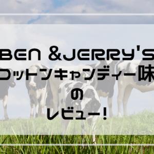 BEN&JERRY'S【コットンキャンディー】のレビュー【コンビニで買った】