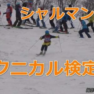 テクニカルプライズ合格者の滑りは?!【シャルマン火打】(2019年4月21日)(スキー検定・動画)