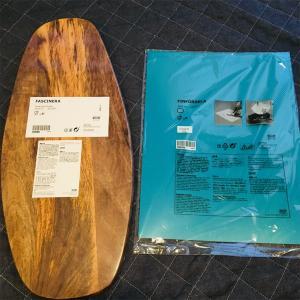 まな板の使い分け IKEAの木製まな板 ファシネーラ