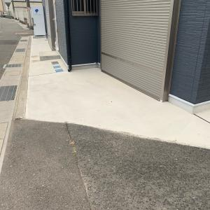 外構及び基礎コンクリート補修のアフター紹介