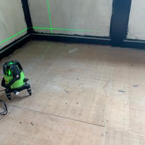 畳からCFに床やり替え