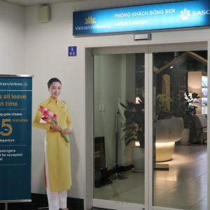 【空港ラウンジ】ホーチミン(タンソンニャット)空港 ベトナム航空国際線ロータスラウンジ