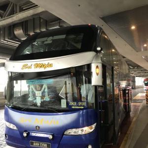 【乗車記】スリマジュ(高速バス)クアラルンプール⇒シンガポール