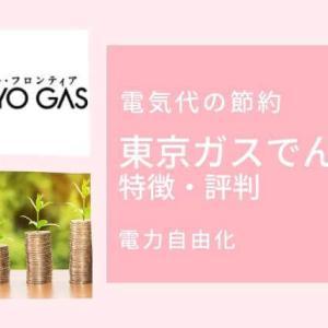 【ガスと電気まとめるだけで安くなる】東京ガスでんきの特徴とメリット・デメリット|口コミ評判レビュー