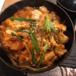 炭火鳥焼肉 しちりんや@堺筋本町 4種の鶏どんぶりランチ