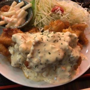 大衆酒場 あげもんや@堺筋本町 ボリュームのチキン南蛮定食ランチ