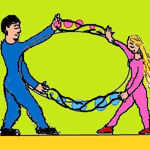 気と気をつなぐことで絆が生まれる