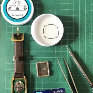 腕時計電池交換?!