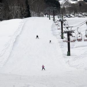 初ゴンドラ搭乗、娘のスキー指導?!1月19日
