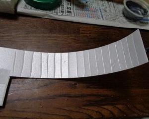 旧田口線 大井川橋梁を製作 3