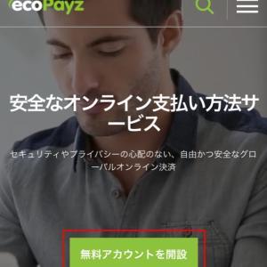 【簡単2分】ecoPayz(エコぺイズ)のアカウント登録方法
