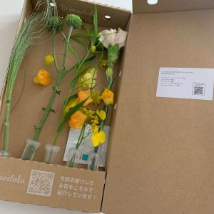 花定期便メデルで届いた今週のお花