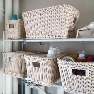 洗面所、大幅見直し③【収納見直し】