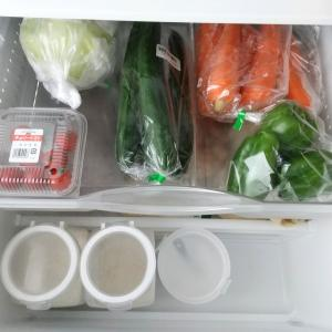 最近の冷蔵庫の、収納。【野菜室・冷凍庫編】