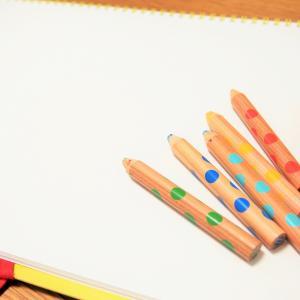 5歳のお絵描きと文字書き