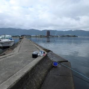 諏訪湖ワカサギ 陸釣りスタート