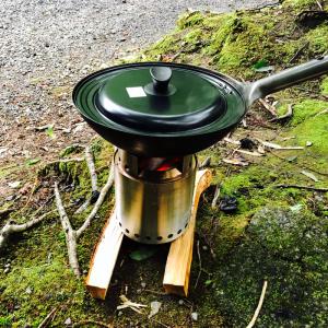 solo stove Campfire 使用レビューその2中華鍋との相性は?!