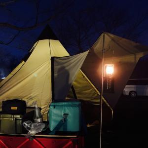 久しぶりの家族水入らずキャンプ成田ゆめ牧場で真冬キャンプ その1