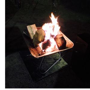 子供が思いっきり遊べるキャンプ場 北軽井沢スウィートグラスその2 ハンモックサイトでムーンライト7初投入