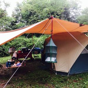 ファミリーキャンプに最適 モンベル ムーンライト7ママでも一人で簡単に設営する方法