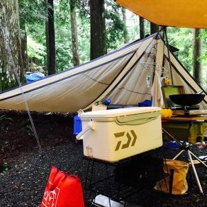ダイワ ライトトランク4 ゴールド 7月の3連休キャンプで試した結果