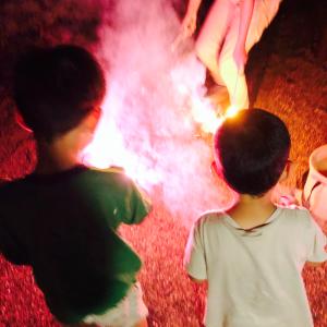 真夏の那須キャンプ キャンプアンドキャビンズ那須高原 その2イマイチのお天気の時は近場の遊び場を活用!