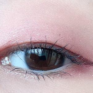 CLIO プロアイパレット#simply pinkを使ったメイク