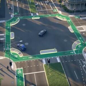 【サイクリスト】メルボルンで急激に進む自転車の安全対策。専用レーンと特別交差点を設置。